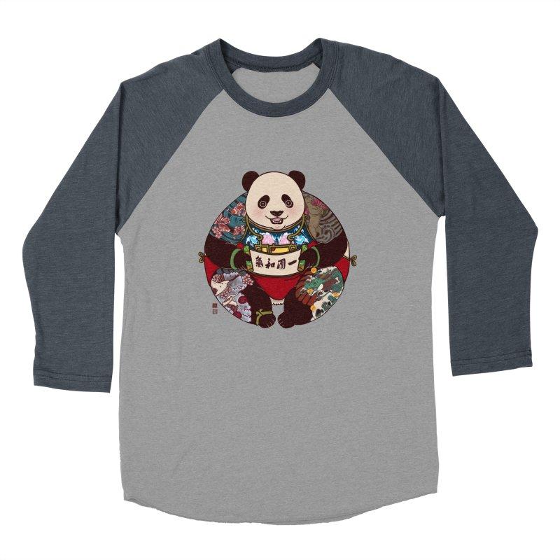 Circle of Harmony Men's Baseball Triblend T-Shirt by xiaobaosg