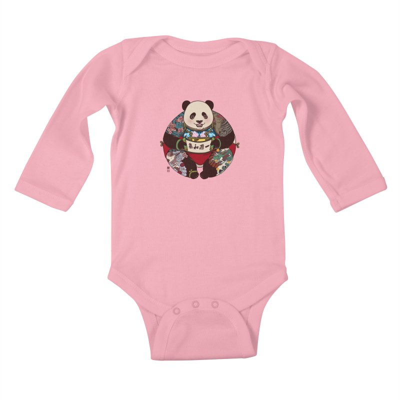 Circle of Harmony Kids Baby Longsleeve Bodysuit by xiaobaosg
