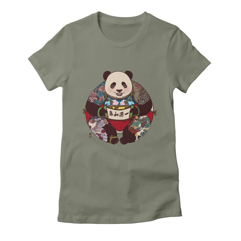 Circle of Harmony Women's Fitted T-Shirt by xiaobaosg