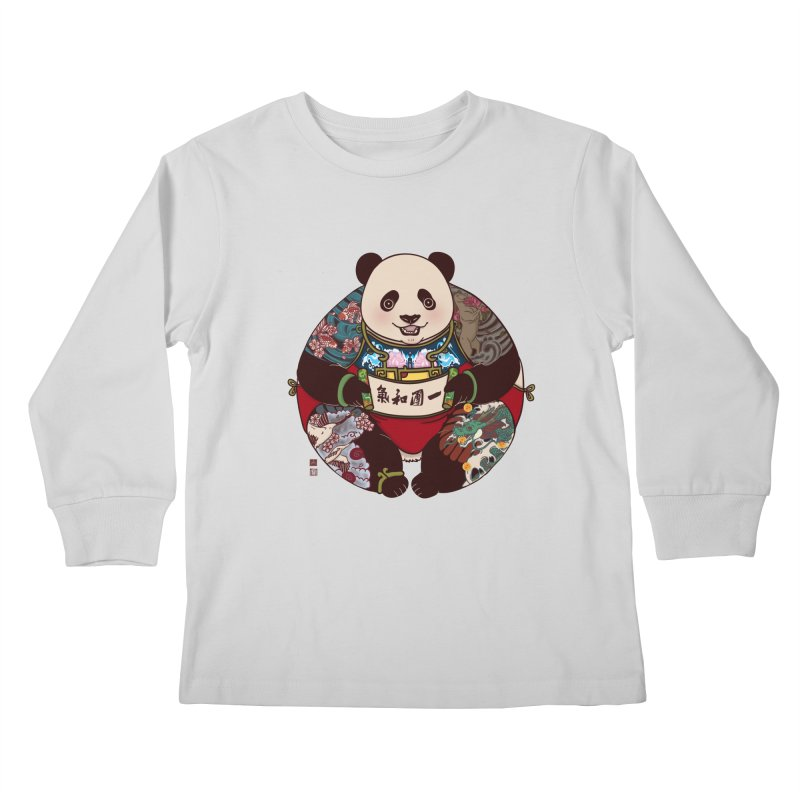 Circle of Harmony Kids Longsleeve T-Shirt by xiaobaosg
