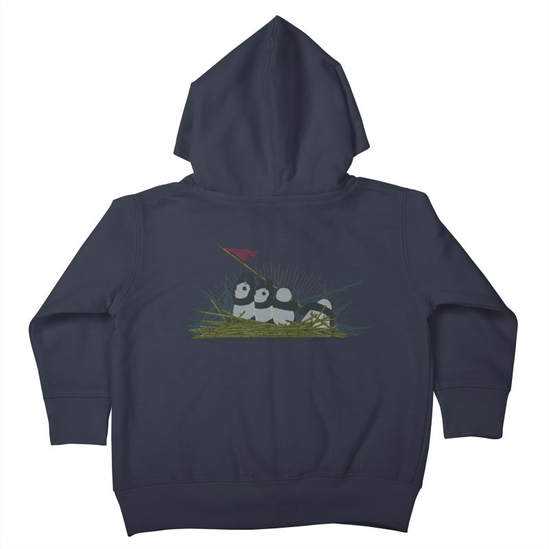 Flags of their fathers Kids Toddler Zip-Up Hoody by xiaobaosg