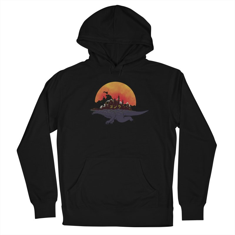 The City That Never Sleeps Women's Pullover Hoody by xiaobaosg