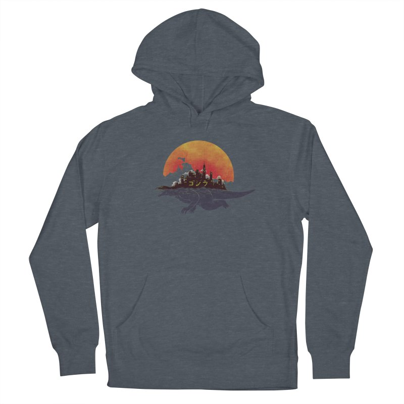The City That Never Sleeps Men's Pullover Hoody by xiaobaosg