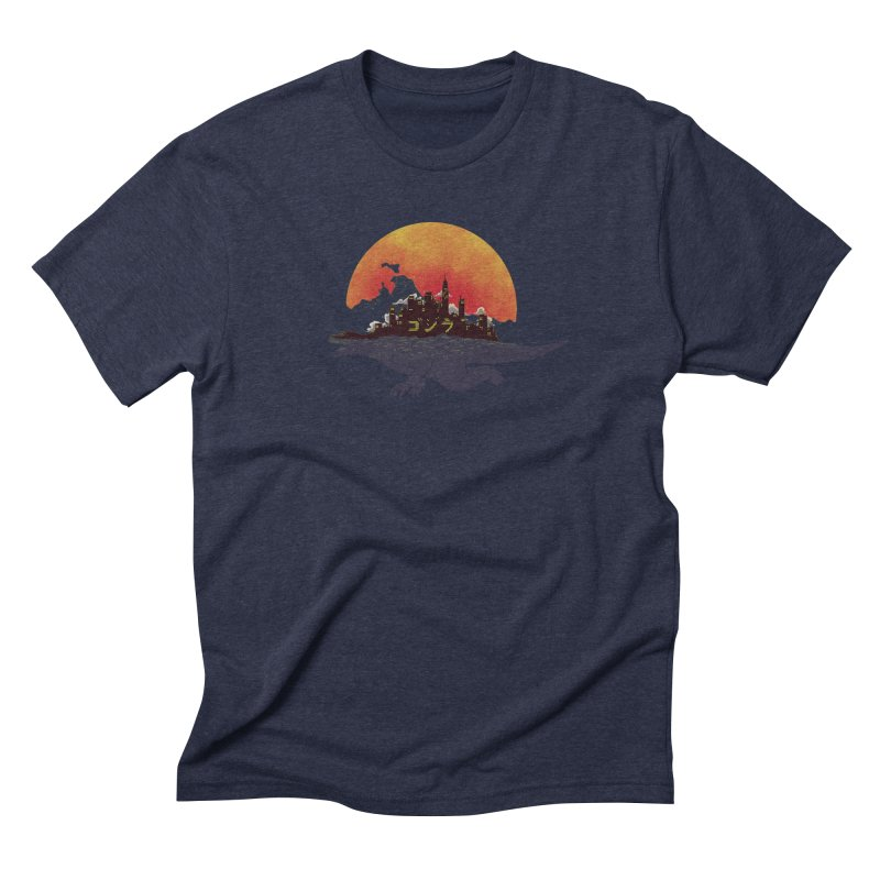 The City That Never Sleeps Men's Triblend T-shirt by xiaobaosg