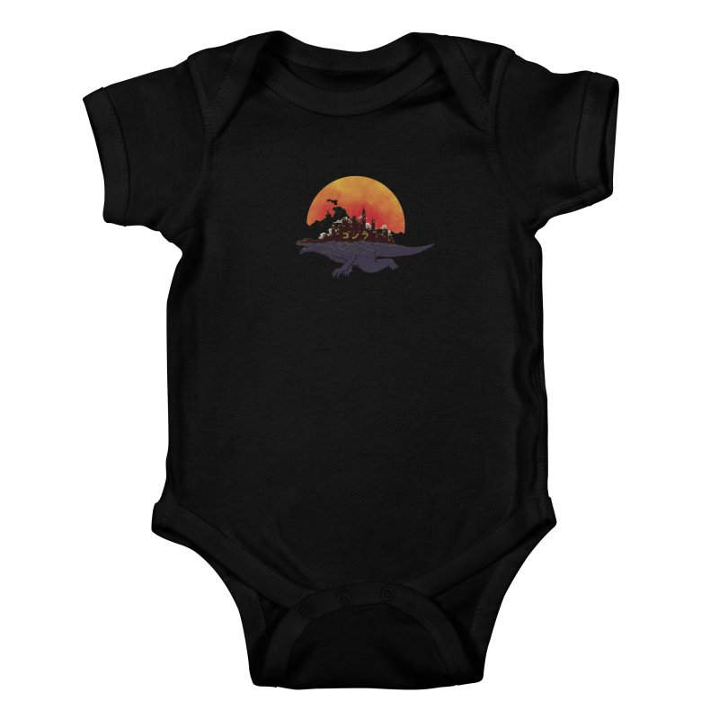 The City That Never Sleeps Kids Baby Bodysuit by xiaobaosg