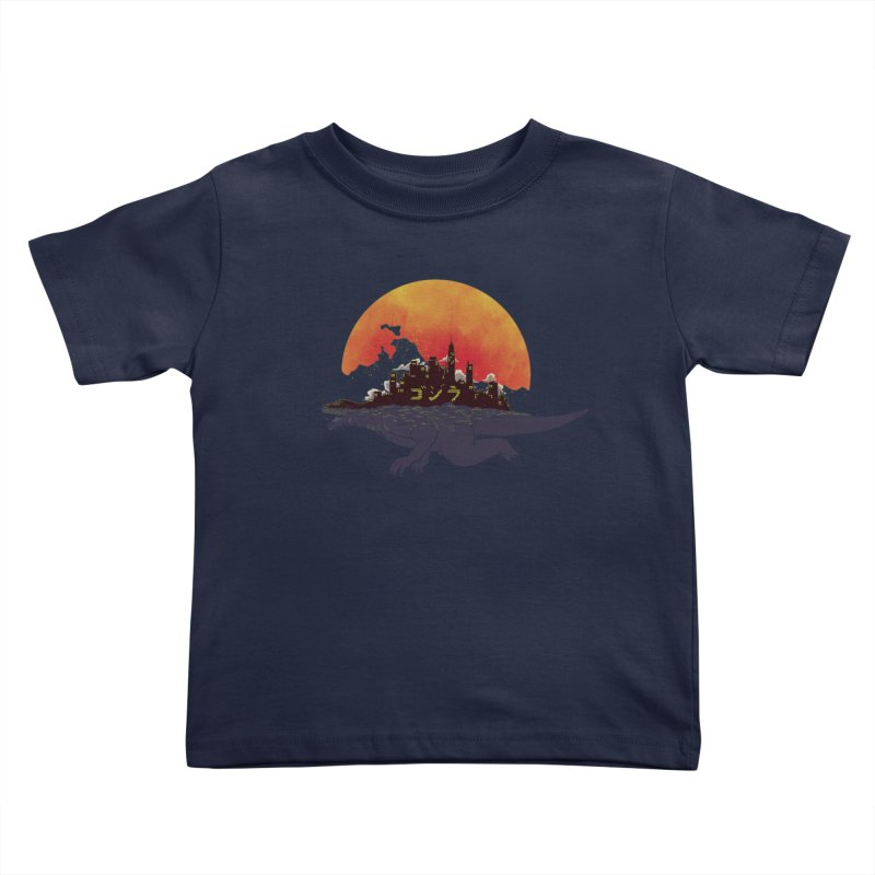 The City That Never Sleeps Kids Toddler T-Shirt by xiaobaosg