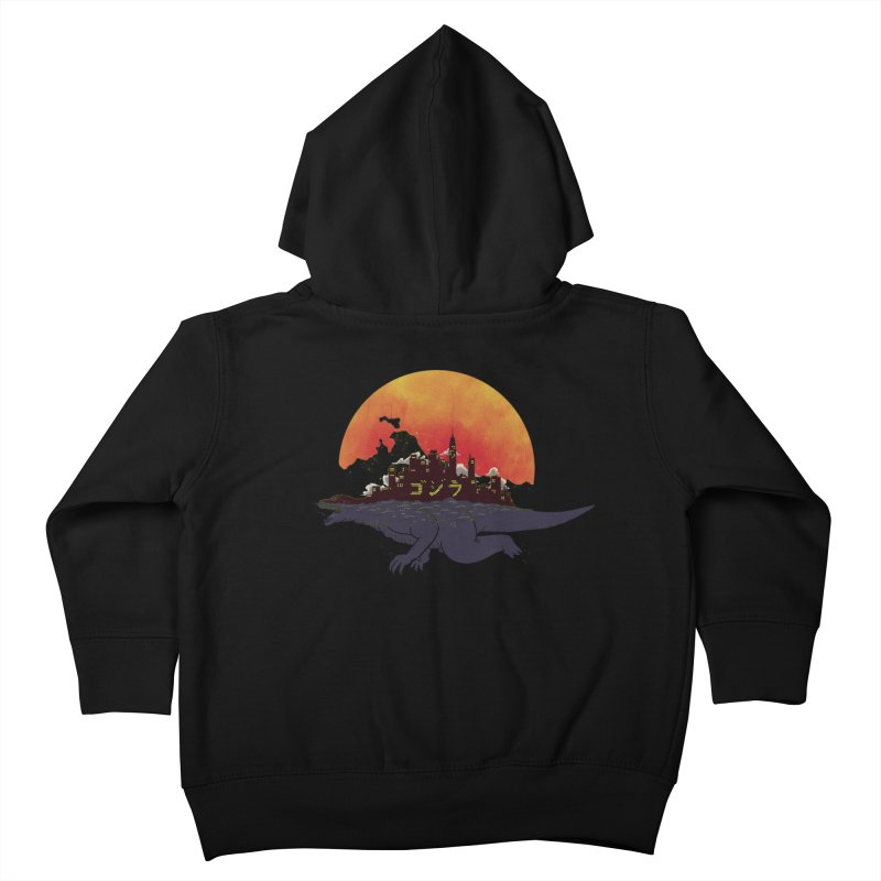 The City That Never Sleeps Kids Toddler Zip-Up Hoody by xiaobaosg