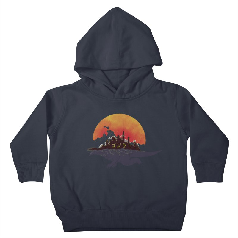 The City That Never Sleeps Kids Toddler Pullover Hoody by xiaobaosg