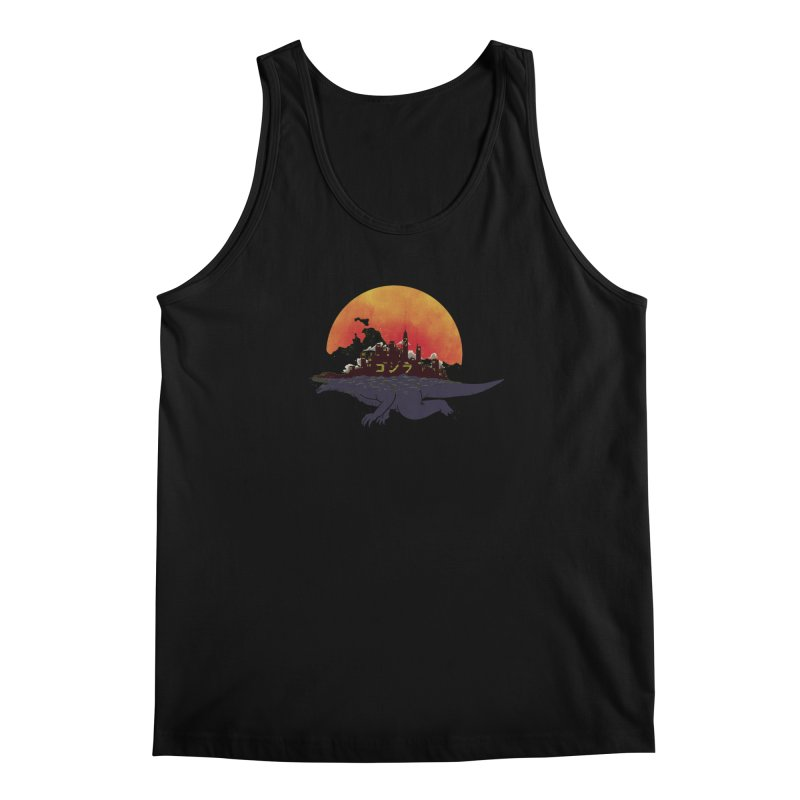 The City That Never Sleeps Men's Tank by xiaobaosg