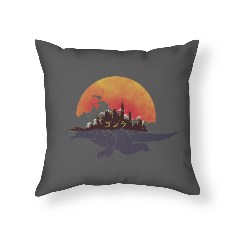 The City That Never Sleeps Home Throw Pillow by xiaobaosg