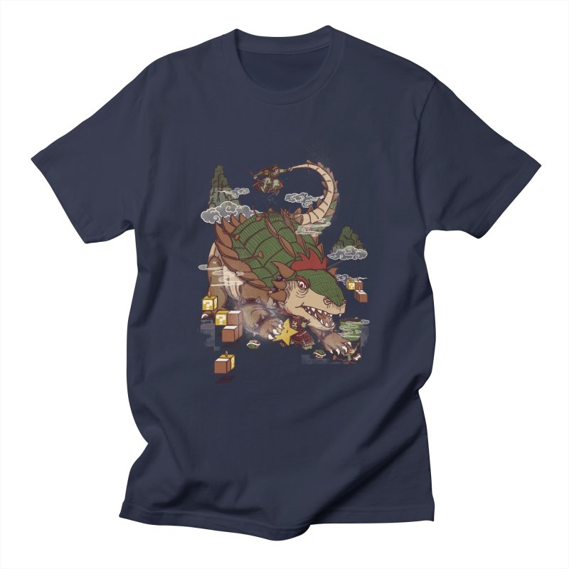 Monster Dogma Men's T-shirt by xiaobaosg