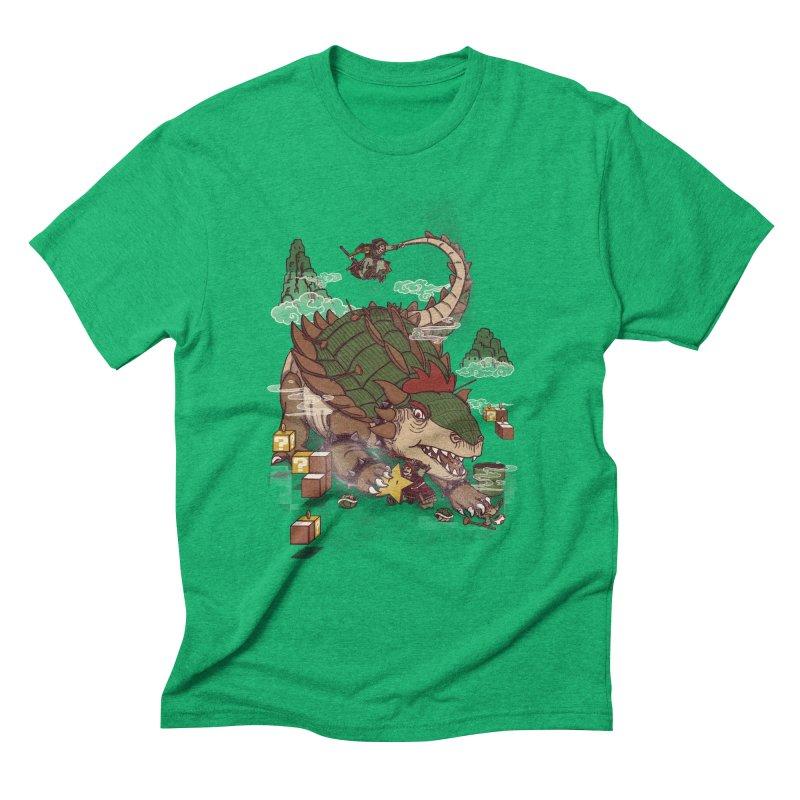 Monster Dogma Men's Triblend T-Shirt by xiaobaosg