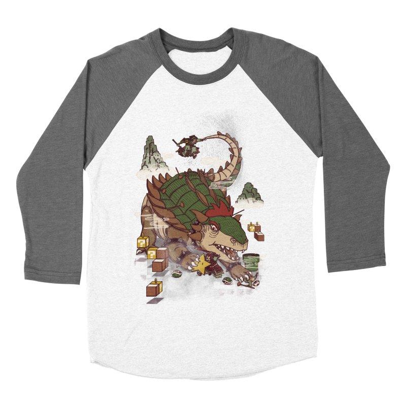 Monster Dogma Men's Baseball Triblend T-Shirt by xiaobaosg