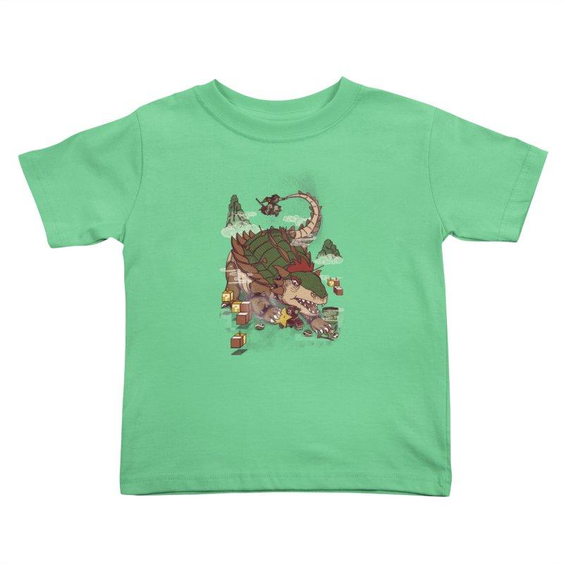 Monster Dogma Kids Toddler T-Shirt by xiaobaosg