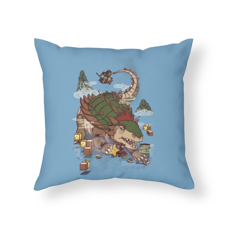 Monster Dogma Home Throw Pillow by xiaobaosg