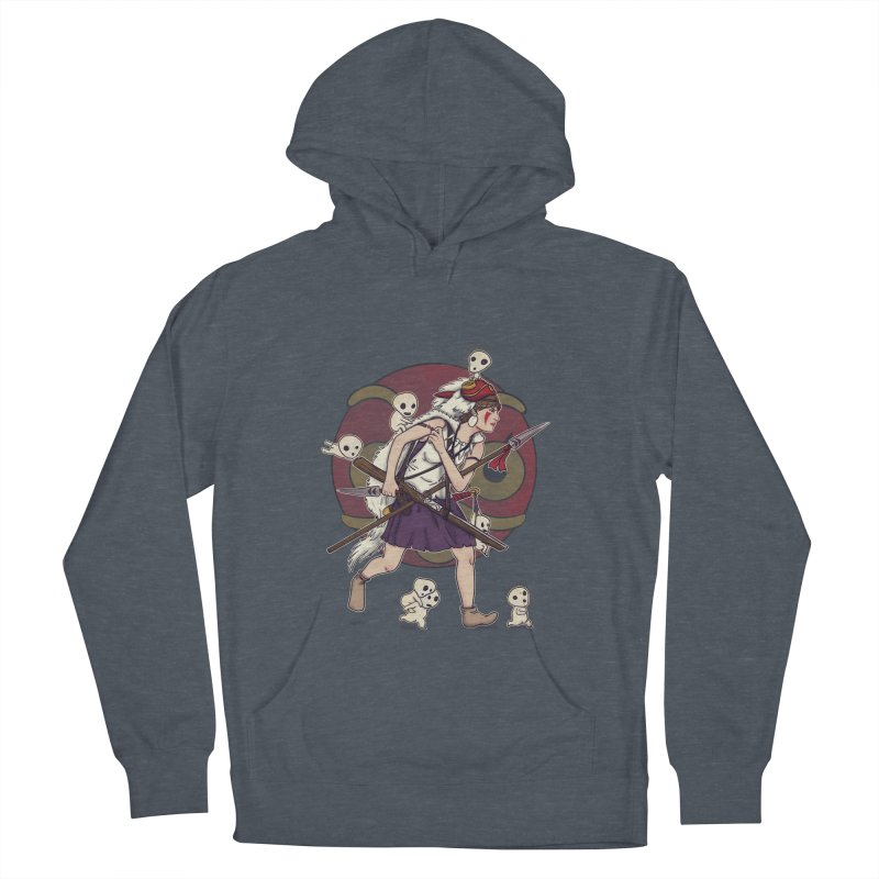Wolf Girl to the rescue Women's Pullover Hoody by xiaobaosg