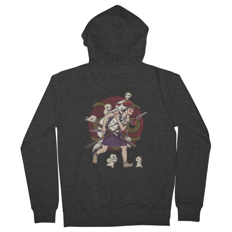 Wolf Girl to the rescue Women's Zip-Up Hoody by xiaobaosg