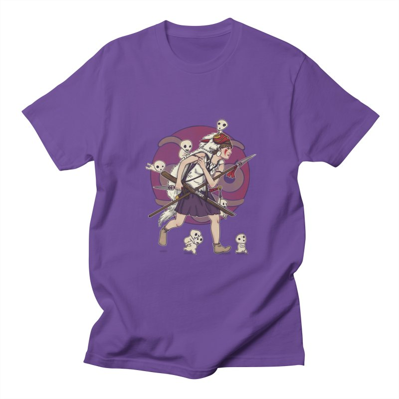 Wolf Girl to the rescue Women's Unisex T-Shirt by xiaobaosg
