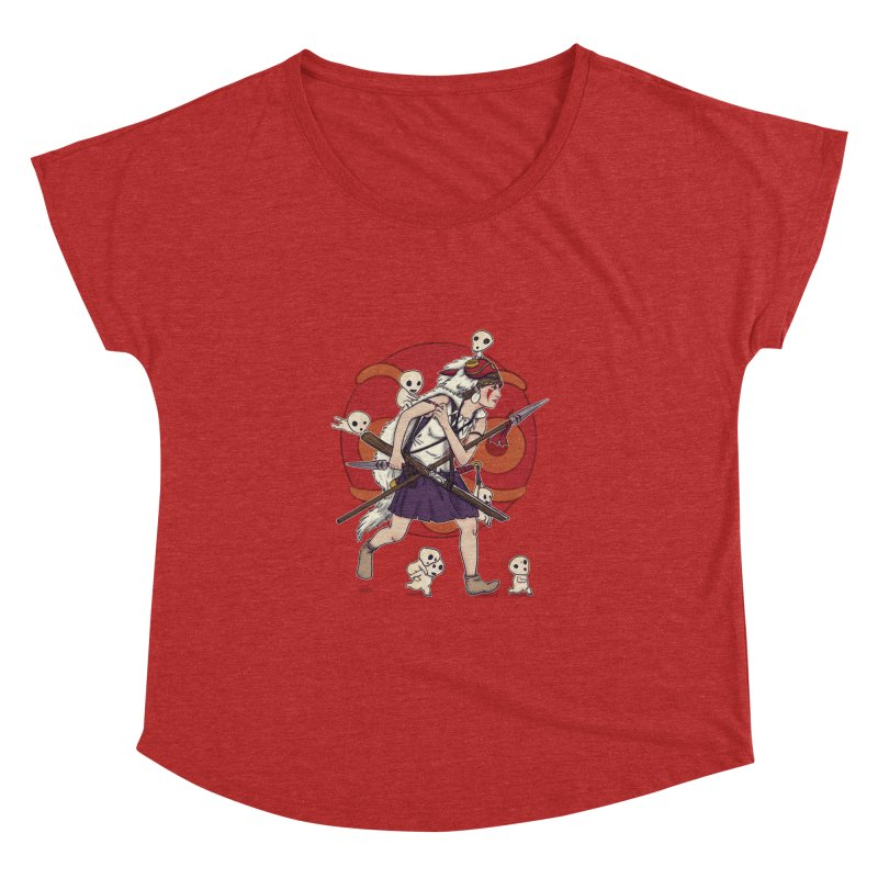 Wolf Girl to the rescue Women's Dolman by xiaobaosg