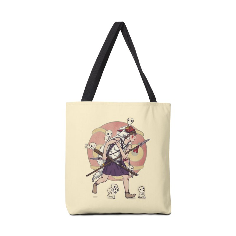 Wolf Girl to the rescue Accessories Bag by xiaobaosg