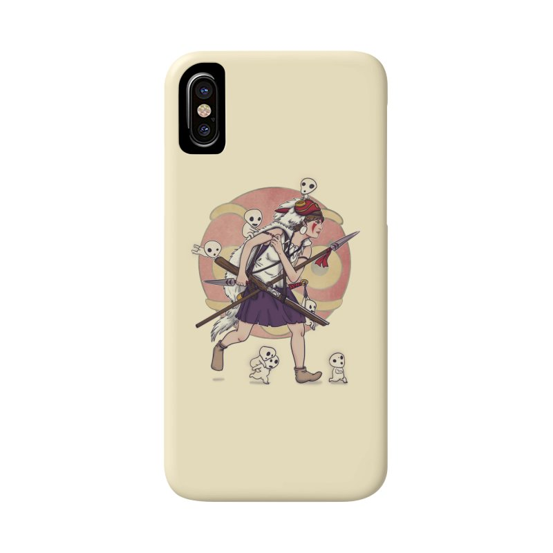 Wolf Girl to the rescue Accessories Phone Case by xiaobaosg