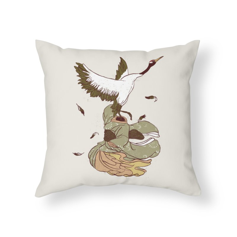 The Day You Went Away Home Throw Pillow by xiaobaosg