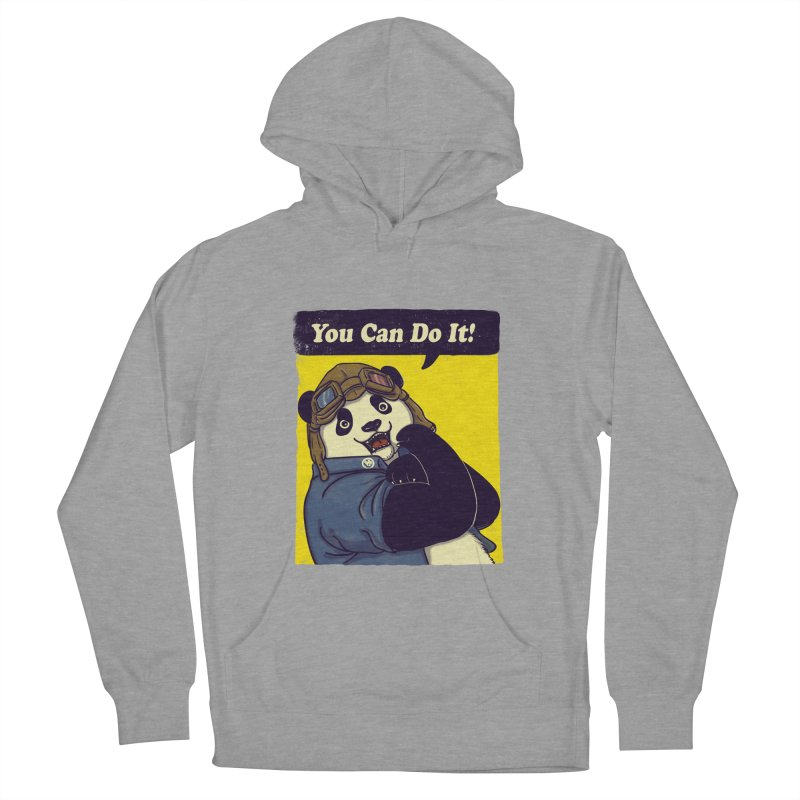 You Can Do It! Women's Pullover Hoody by xiaobaosg