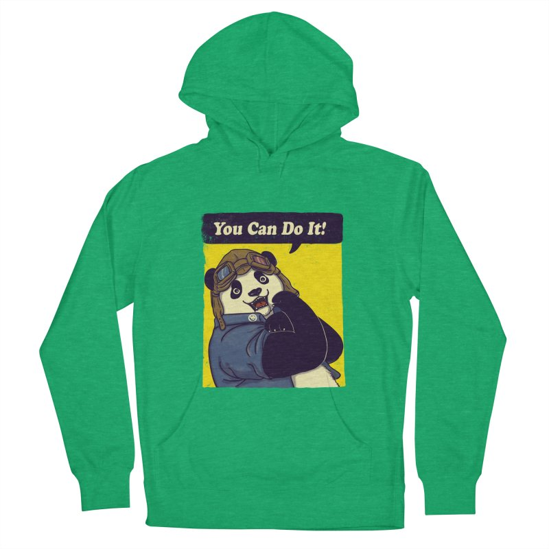 You Can Do It! Men's Pullover Hoody by xiaobaosg