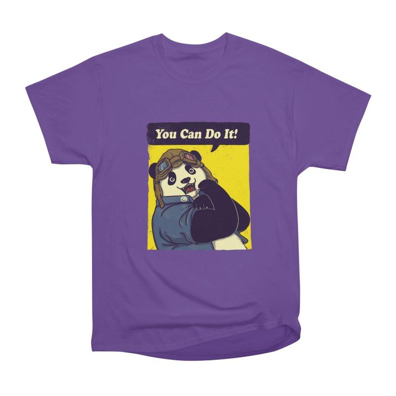 You Can Do It! Women's Classic Unisex T-Shirt by xiaobaosg