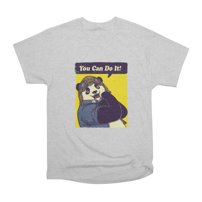 You Can Do It! Men's Classic T-Shirt by xiaobaosg