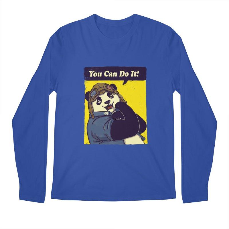 You Can Do It! Men's Longsleeve T-Shirt by xiaobaosg