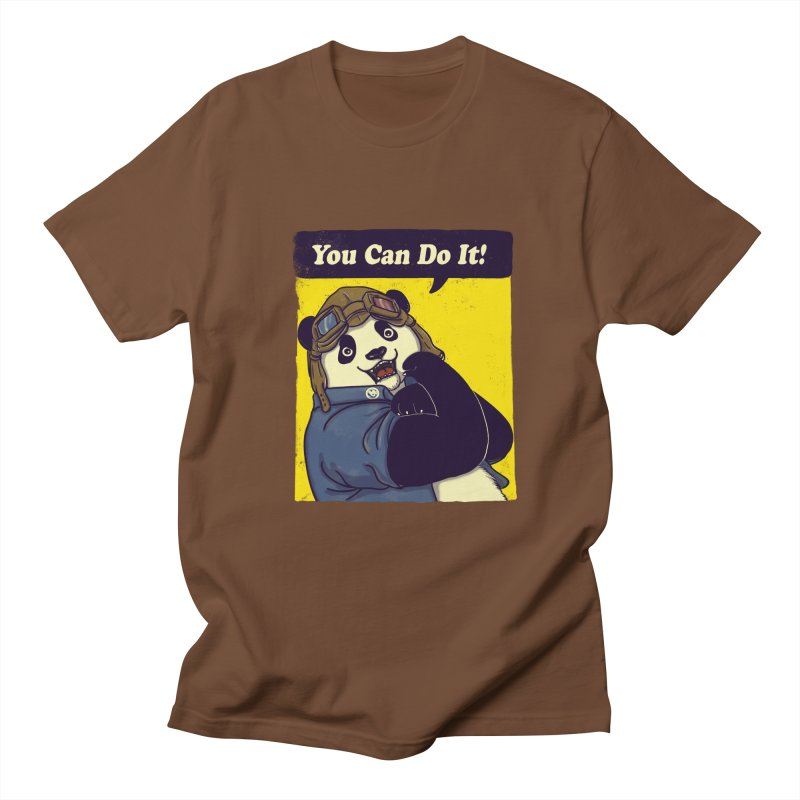 You Can Do It! Men's T-shirt by xiaobaosg