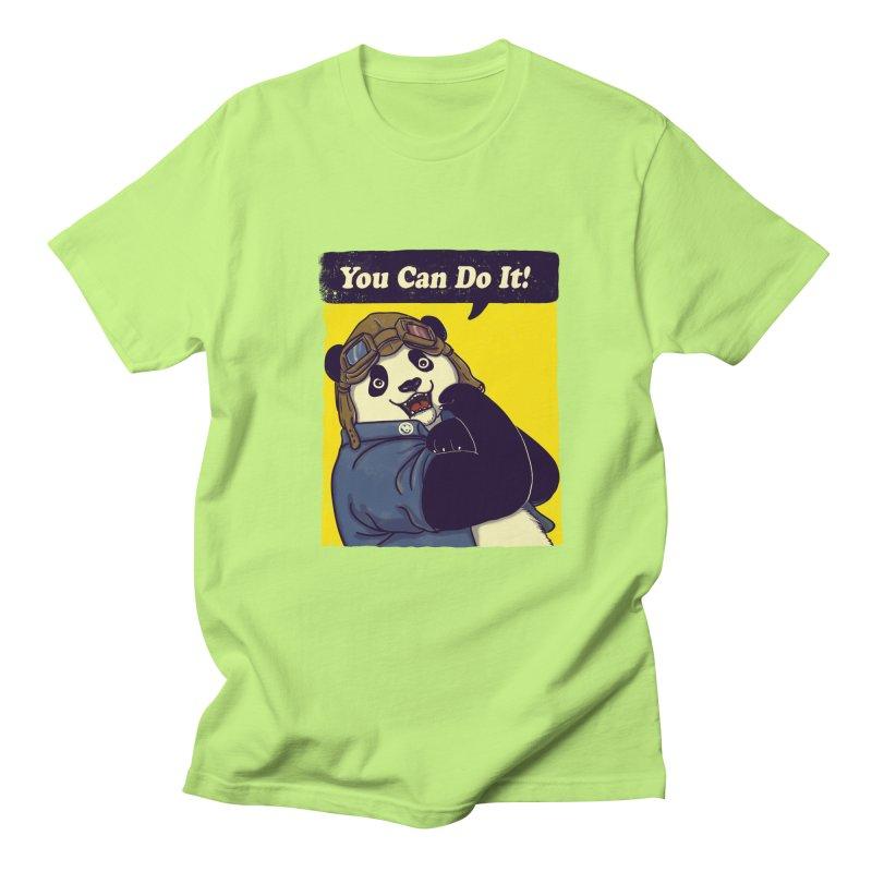 You Can Do It! Women's Unisex T-Shirt by xiaobaosg