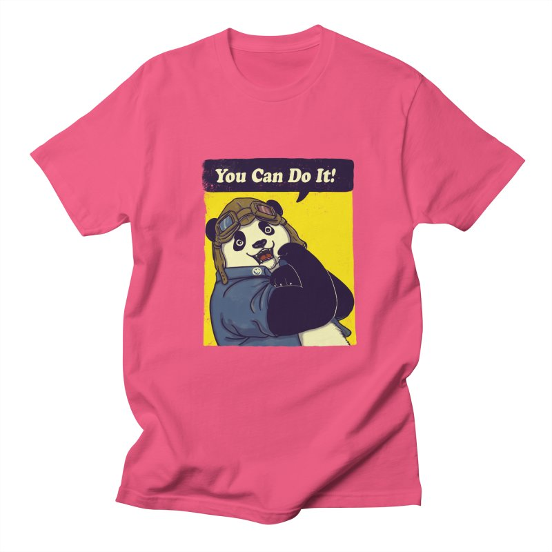 You Can Do It! Women's Unisex T-Shirt by xiaobaosg