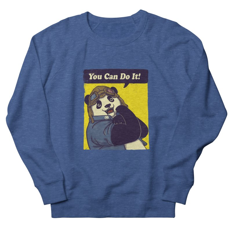 You Can Do It! Women's Sweatshirt by xiaobaosg
