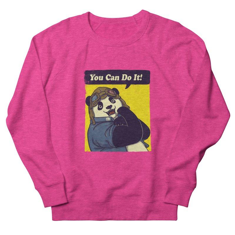 You Can Do It! Women's Sweatshirt by xiaobaosg