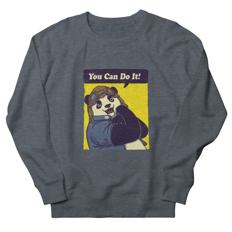 You Can Do It! Men's Sweatshirt by xiaobaosg