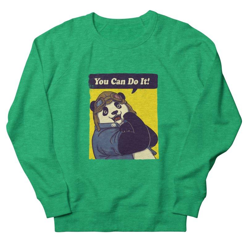 You Can Do It! Men's Sweatshirt by xiaobaosg