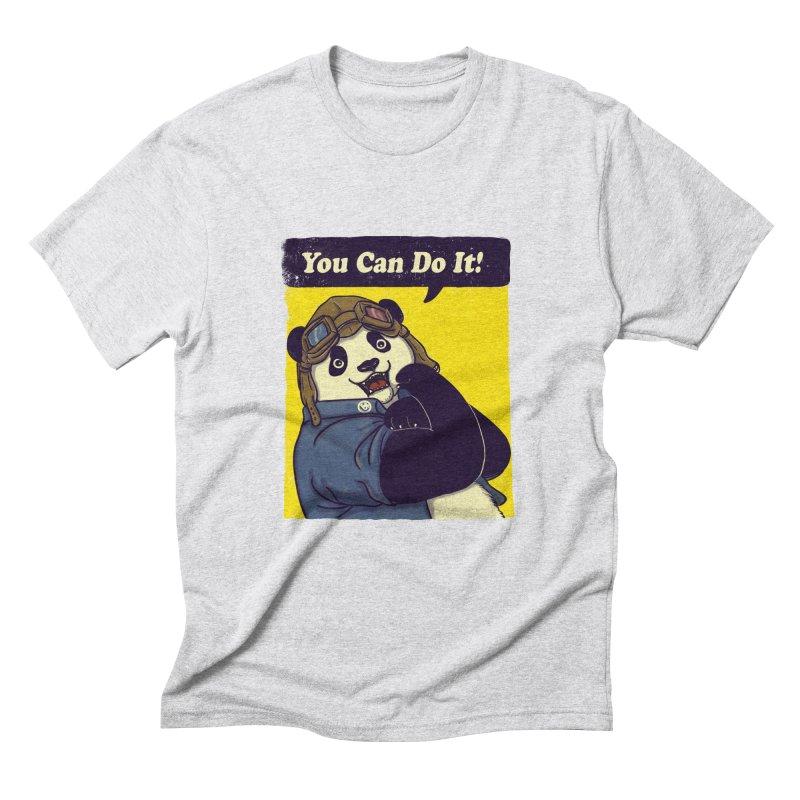 You Can Do It! Men's Triblend T-Shirt by xiaobaosg