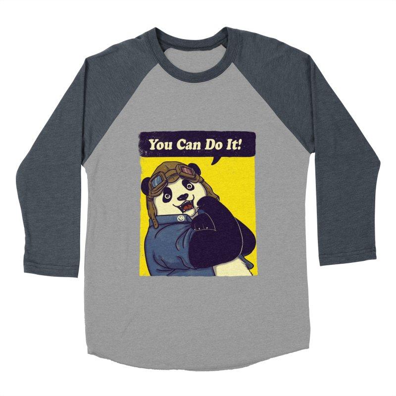 You Can Do It! Men's Baseball Triblend T-Shirt by xiaobaosg