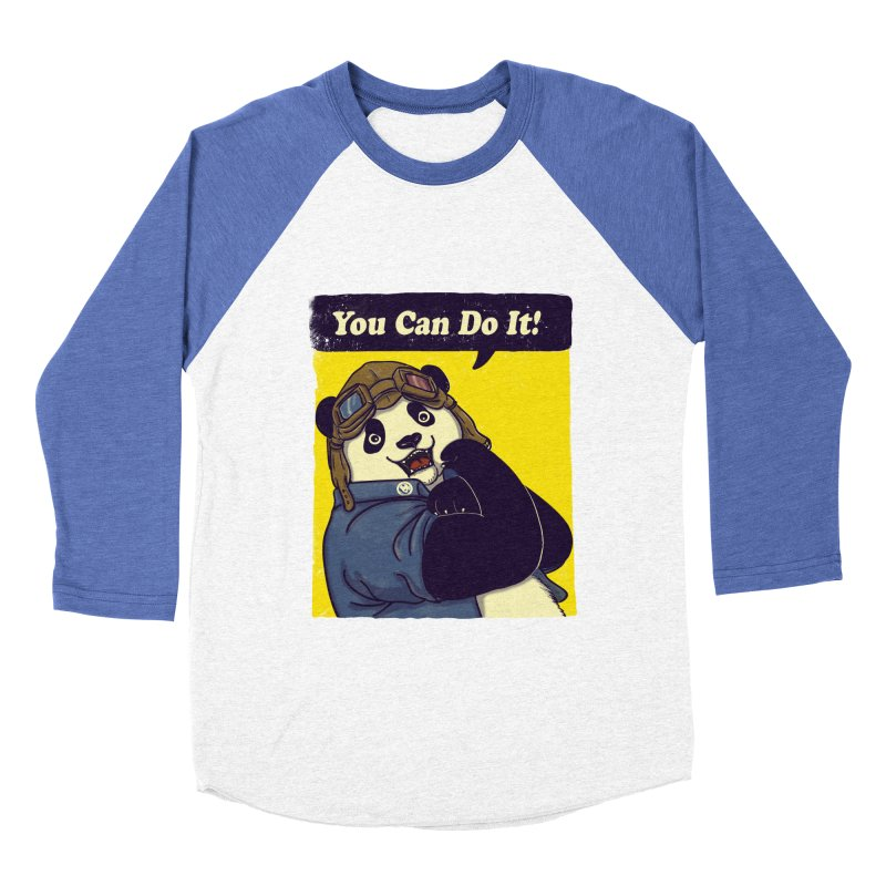 You Can Do It! Men's Baseball Triblend T-Shirt by xiaobaosg