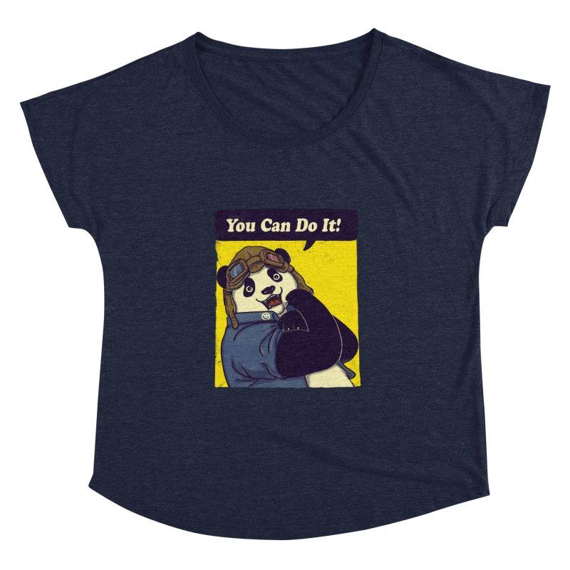 You Can Do It! Women's Dolman by xiaobaosg
