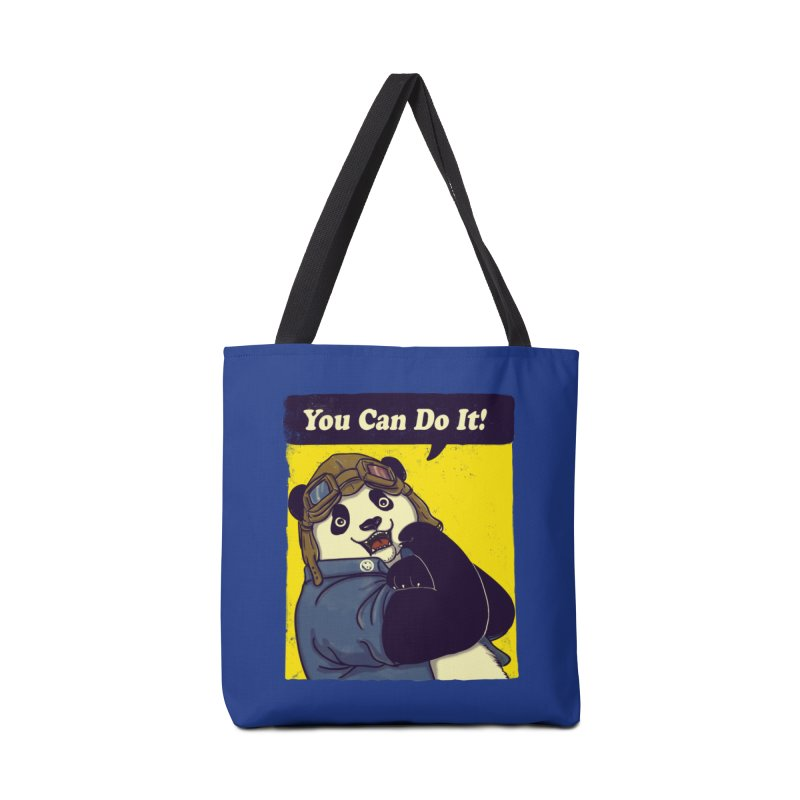 You Can Do It! Accessories Bag by xiaobaosg