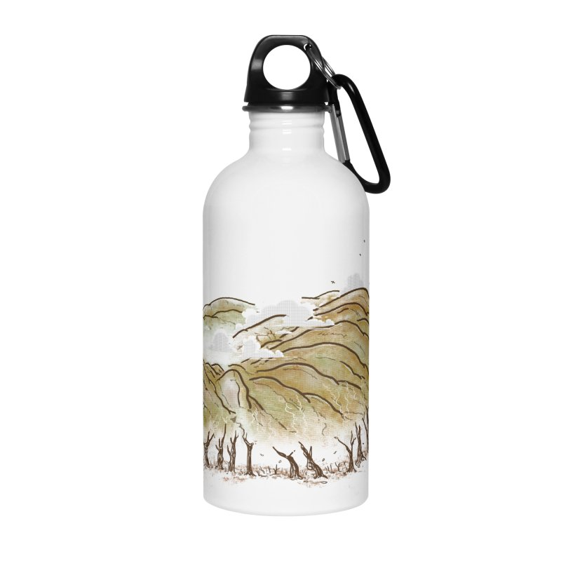 Burning End Accessories Water Bottle by xiaobaosg