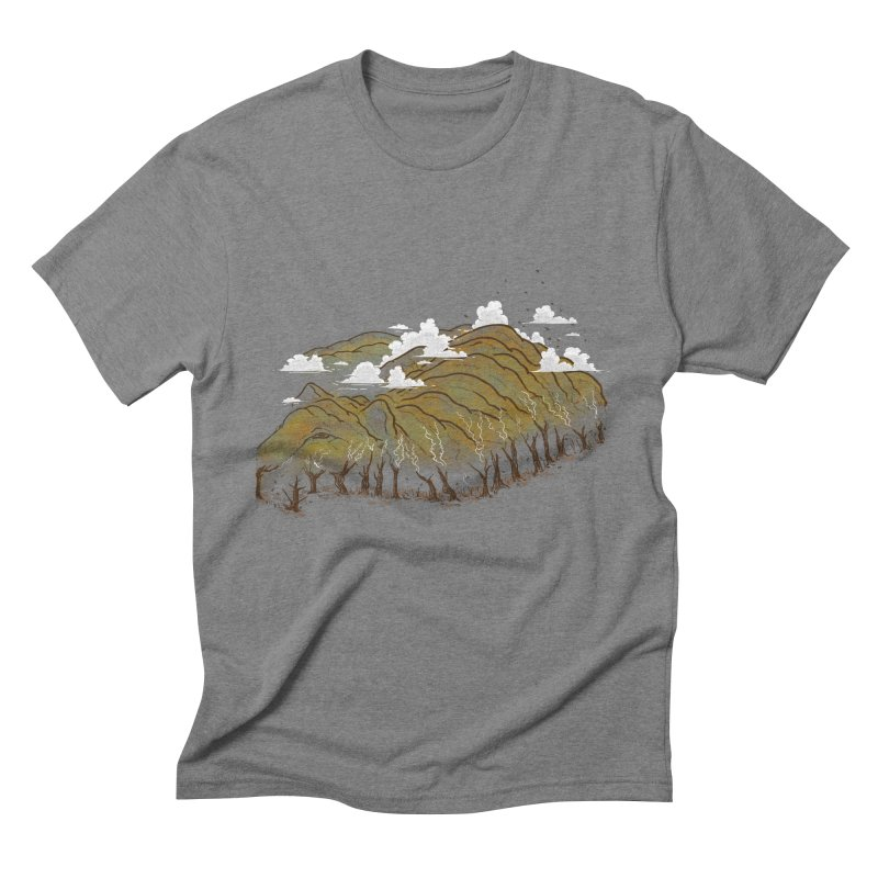 Burning End Men's Triblend T-Shirt by xiaobaosg