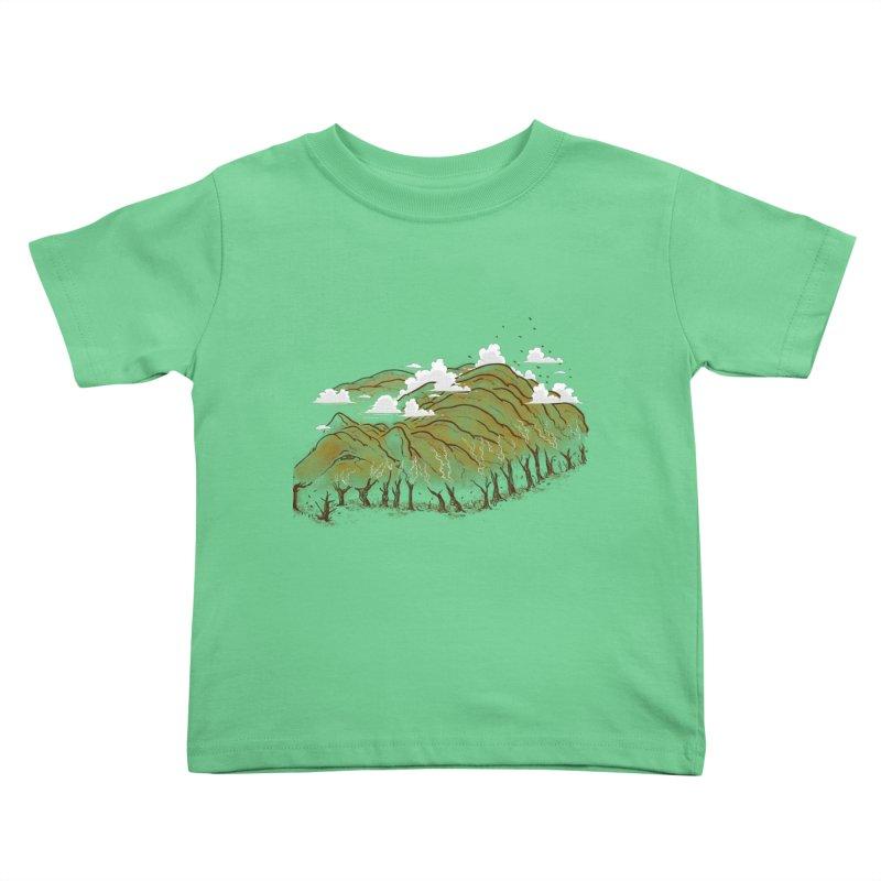 Burning End Kids Toddler T-Shirt by xiaobaosg