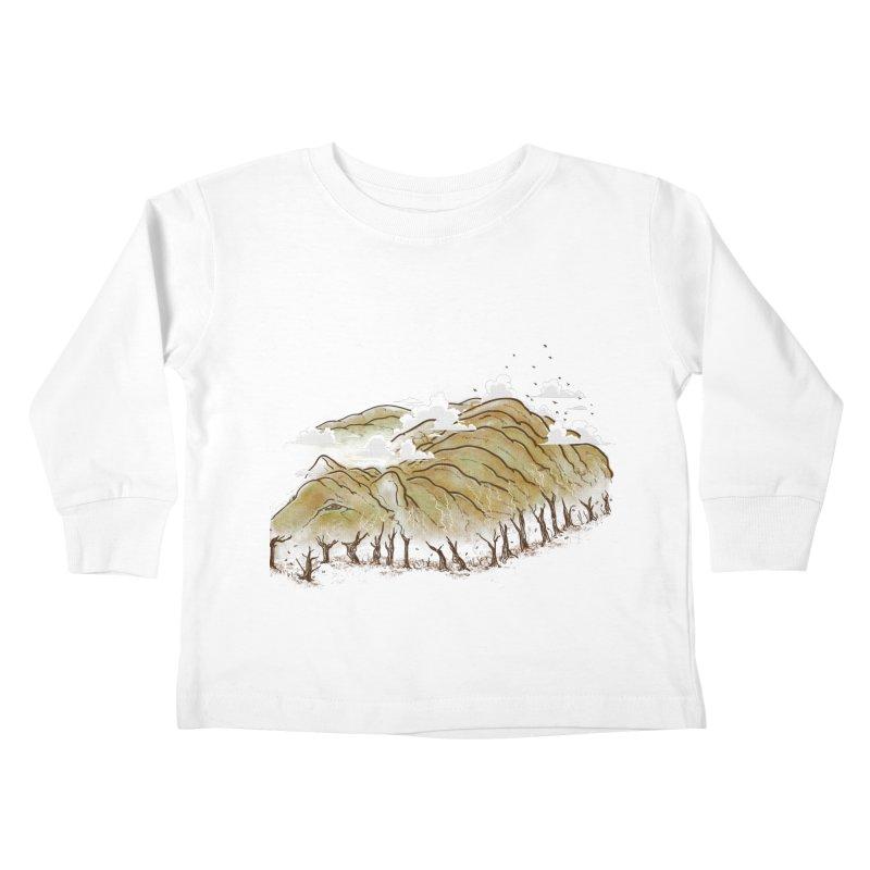 Burning End Kids Toddler Longsleeve T-Shirt by xiaobaosg
