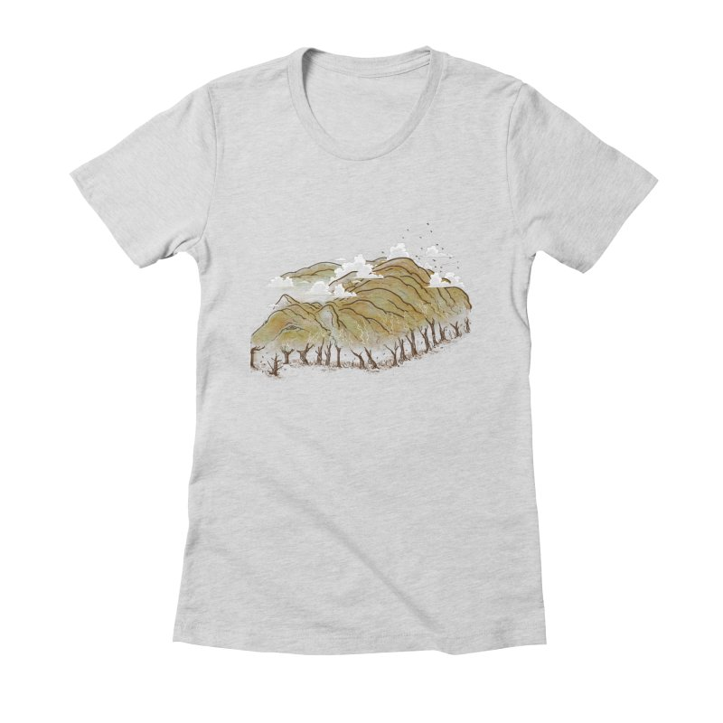 Burning End Women's Fitted T-Shirt by xiaobaosg