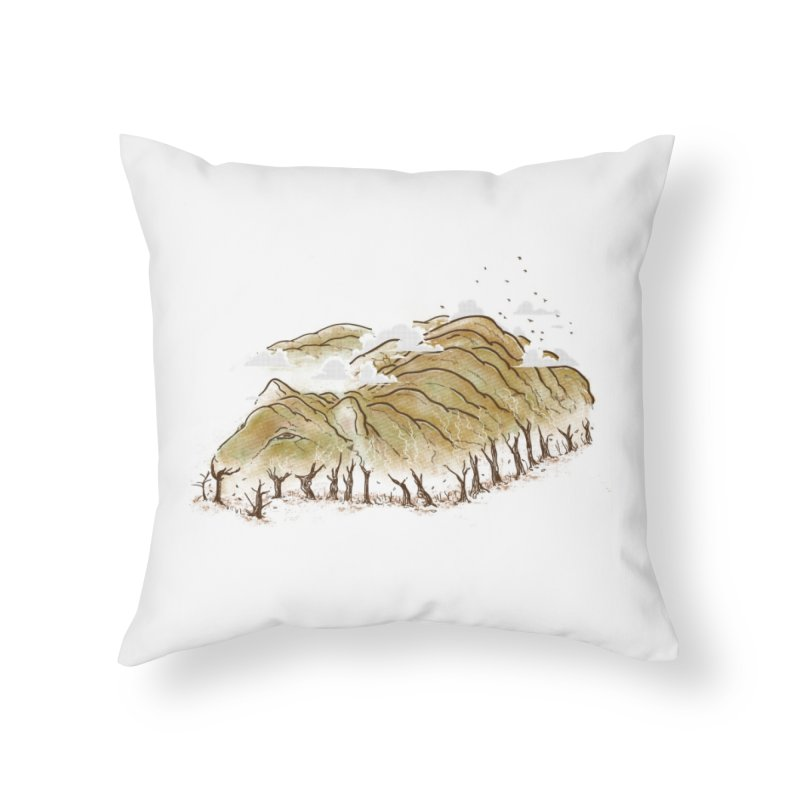 Burning End Home Throw Pillow by xiaobaosg