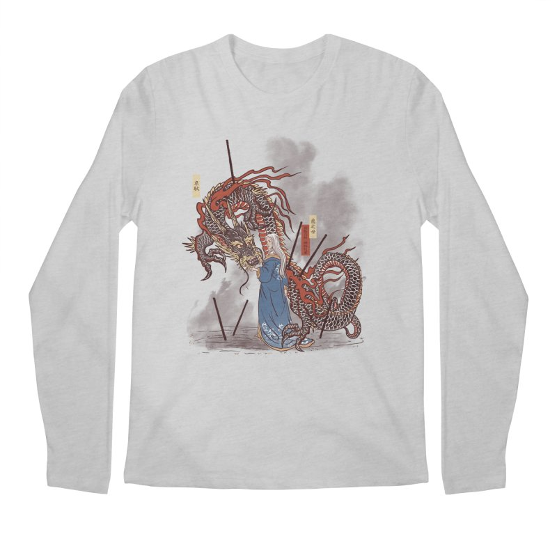 Dance of the dragon Men's Longsleeve T-Shirt by xiaobaosg